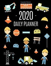 Road Construction Workers Planner 2020: Cool Daily Agenda for 2020 for Men & Boys | Beautiful 12 Months Year Calendar Scheduler With Trucks & Traffic ... Work, Goals & School (Monthly Planners 2020)