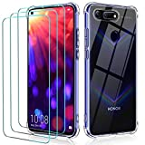 ivoler Case for Huawei Honor View 20 + 3 Pack Tempered