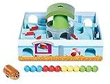 TOMY Hamsterrennen - Geschicklichkeitsspiel für die ganze Familie – Klassisches Labyrinth Spiel...