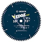 Product Image of the Bosch DCB1072 Daredevil 10-Inch 72-Tooth Laminate Flooring, Laminated Panels and Melamine Circular Saw Blade , Blue