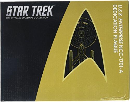 Eaglemoss Star Trek - die offizielle Raumschiffsammlung - Enterprise NCC-1701-A Widmungsplakette