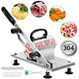 aingycy Frozen Meat Slicer Hand Slicing Machine Stainless Steel...