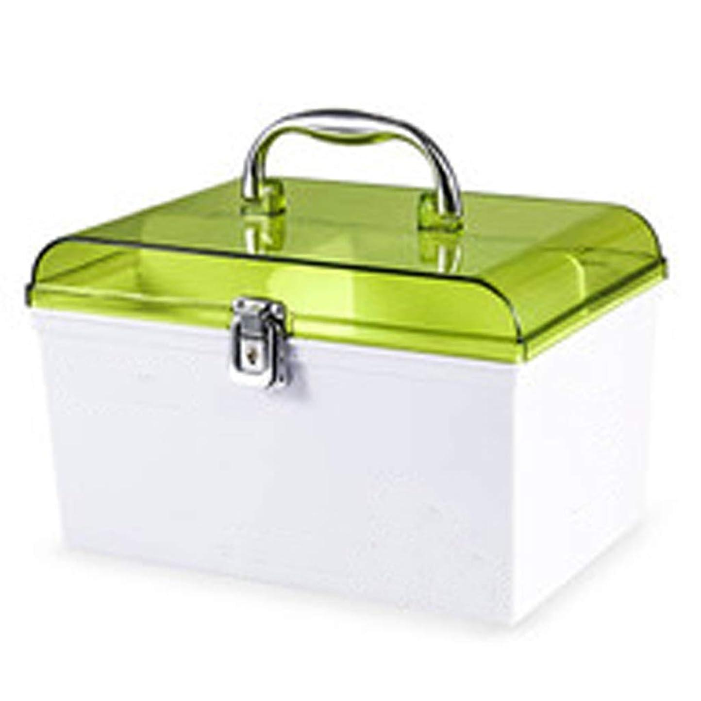 本能コンペ購入YQCS●LS 応急処置キット薬品収納薬品キットポータブルプラスチック製薬品容器グリーン