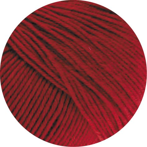 Lana Grossa Cool Wool Melange 102 - Rot meliert