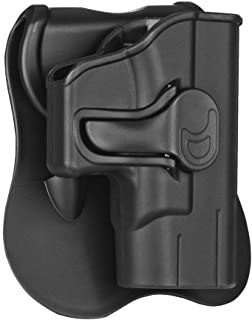 CYTAC Ruger LC9 OWB Holster, Tactical Outside The Waistband Paddle Belt Holsters Fit..
