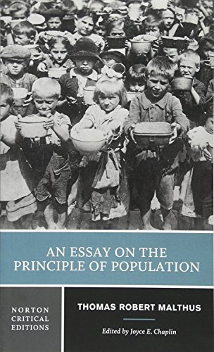 An Essay on the Principle of Population (Norton Critical Editions, Band 0)