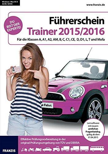Franzis Verlag Führerschein Trainer 2015/2016 [import allemand]