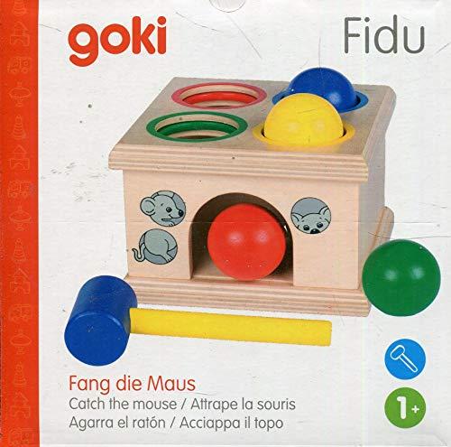 Goki WM914 - Klopfspiel - Fang die Maus Fidu
