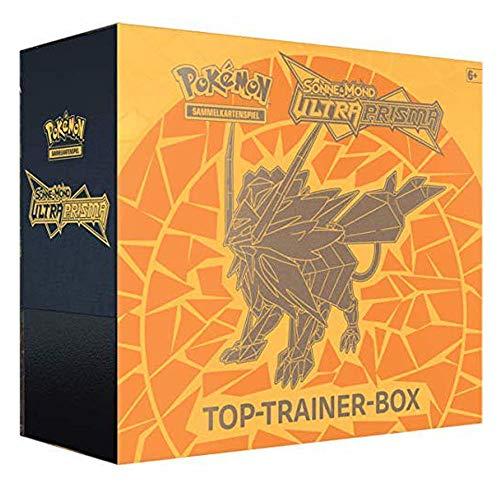 Lively Moments Pokemon Karten Sonne & Mond SM05 Ultra Prisma Solgaleo Top-Trainer-Box DE Deutsch Sammelkarten