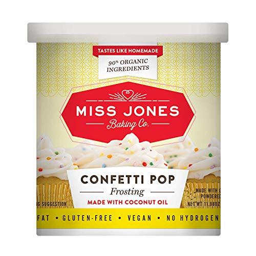 Miss Jones Baking Gluten Free Frosting, Confetti Pop (Pack of 1)