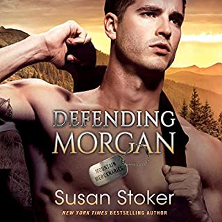 Defending Morgan     Mountain Mercenaries, Book 3              By:                                                                                                                                 Susan Stoker                               Narrated by:                                                                                                                                 Stella Bloom                      Length: 8 hrs and 29 mins     14 ratings     Overall 4.6