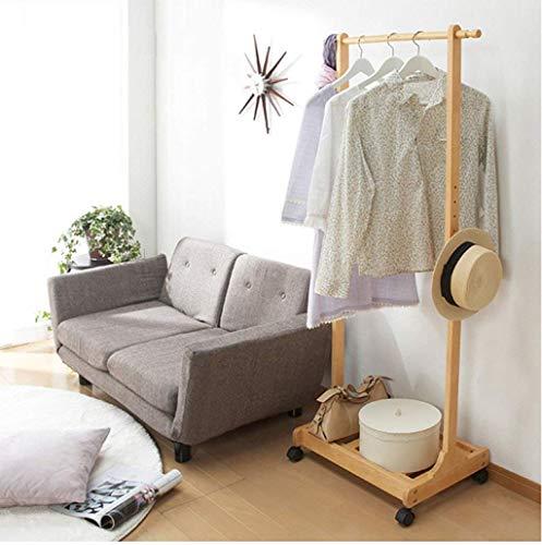 KONGZIR Coat Rack Coat Rack Hanger Hook up Solid Wooden Coat Racks, Bedroom Clothes Rack Simple Living Room Creative Adjustable Hanging Hanger