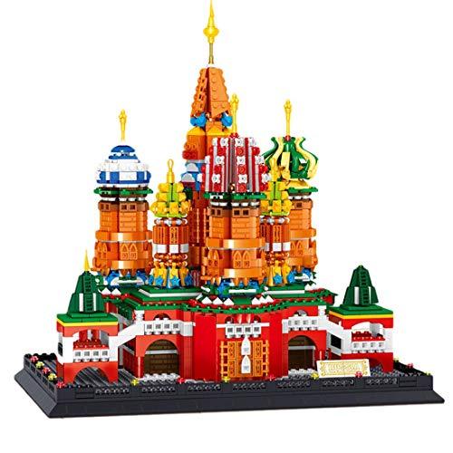 Axjzh Architecture Notre Dame De Paris Jeu de Construction, 2541 Pièces France Paris Architecture Modèle Blocs de Construction, Compatible avec Lego