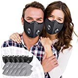 Best n95 rated respirator mask - SOKERDY Sports Masks 5Piece with10PCS Filters Net Breathable Review