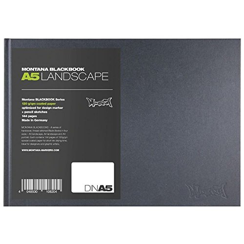 Montana Blackbook Landscape Skizzenbuch Sketchbook Querformat DinA5