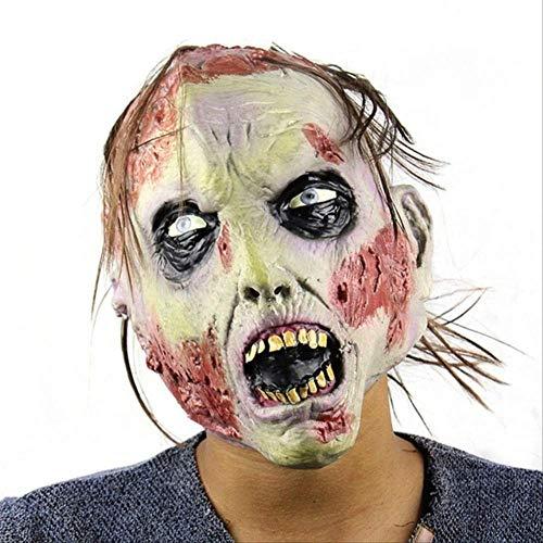 PMWLKJ Accesorios de máscara de Halloween Horror Máscara de disfraces Decoración de casa embrujada Accesorios de decoración de fiesta Como se muestra 4