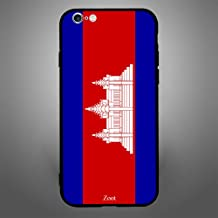 iPhone 6 Plus/ 6s Plus Case Cover Cambodia Flag, Zoot Protective Casing Modern Trendy Design Covers & Cases