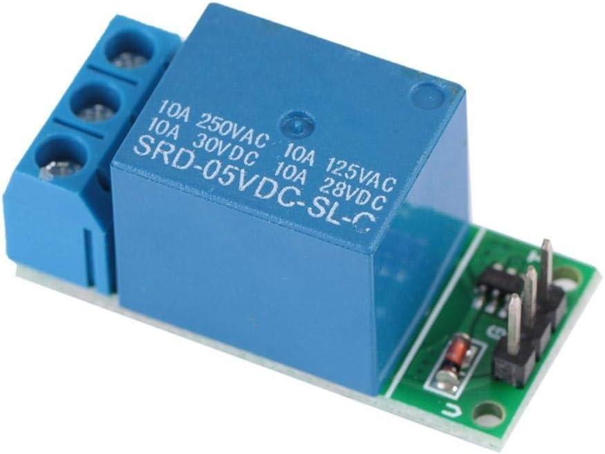 Rockyin 1 CH DC 5V del módulo de conmutador flip-flop Sellado relé biestable autoblocante pulso bajo Junta de activación