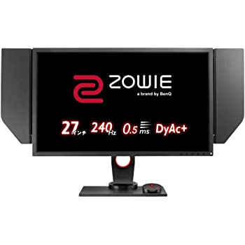 BenQ ゲーミングモニター ZOWIE XL2746S(フルHD/27型/TN/240Hz/0.5ms/DyAc+/Black eQualizer/S.Switch/HDMIx2/DP/DVI)