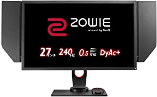 BenQ ゲーミングモニター ZOWIE XL2746S(フルHD/27型/TN/240Hz/0.5ms/DyAc+/Black eQualizer/S.Switch/HDMIx2/DP/DVI)