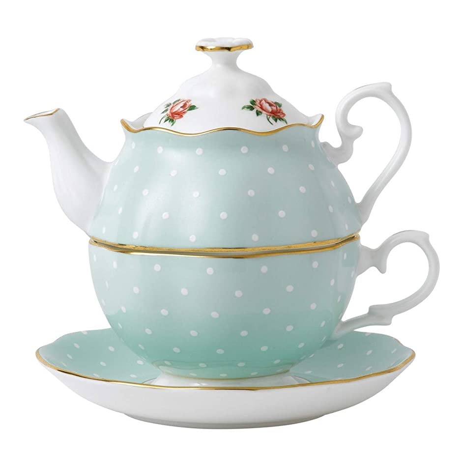 Royal Albert Tea-For-One-Polka Rose