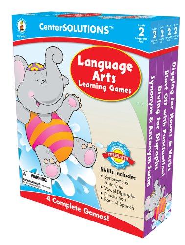 Carson-Dellosa Publishing Language Arts Learning Games, Grade 2