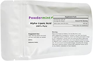 Alpha Lipoic Acid Powder by Powdermint (25 Grams)