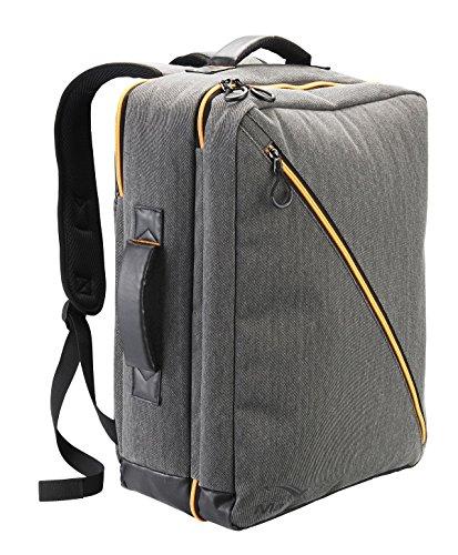 Cabin Max Oxford Premium Handgepäck Kabinentasche 40L Volumen 50 x 40 x 20 cm - Wasserfeste Laptoptasche mit praktischen Organisationsfächern - Rucksack für Ryanair Flüge (Grau)