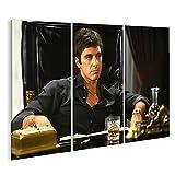 islandburner Bild Bilder auf Leinwand Pacino Scarface Kult