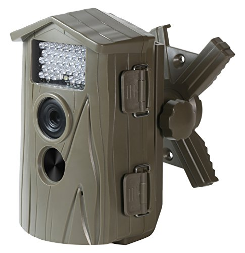 Technaxx Nature Cam Wildkamera (5 Megapixel CMOS Sensor, 6,1 cm (2,4 Zoll) TFT-Display, HD, Kartenslot,Mikrofon),neueste Version mit 1,1 Sek. Auslösezeit, braun