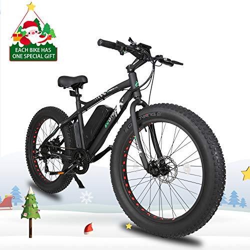 Best electric mountain bike buying guide - #5: Ecotric Leopard Electric Mountain Bike