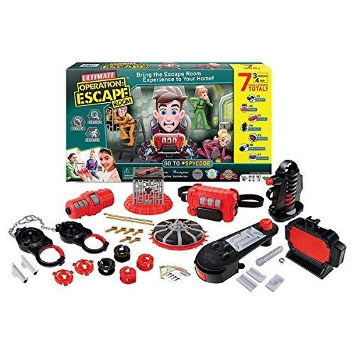 Yulu International Ltd.  Spy Code Ultimate Operation Escape Room Game ,Multi-colored