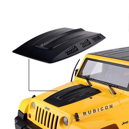 INJORA RC Auto Motorhaube Motor Lufteinlass Abdeckung für 1/10 RC Rock Crawler Axial SCX10 90046 Jeep Wrangler Rubicon Karosserie