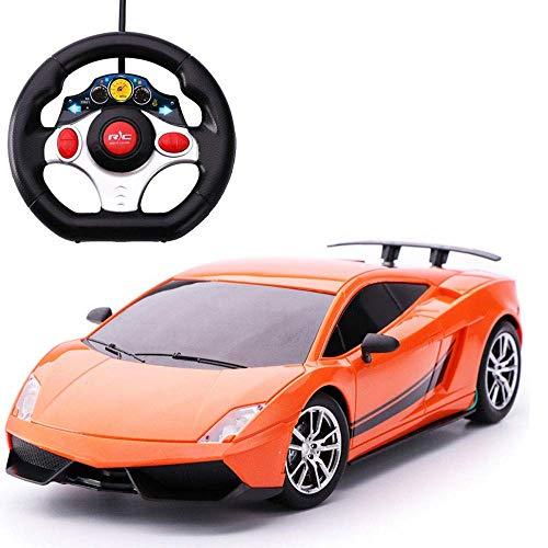 1:16 Fernbedienungsauto-Ladeversion von Spielzeug für Jungen und Mädchen Neues widerstandsfähiges elektrisches Spielzeugauto für Kinder Fernbedienungsauto Elektrisches kleines Aufladen Hochgeschwindi