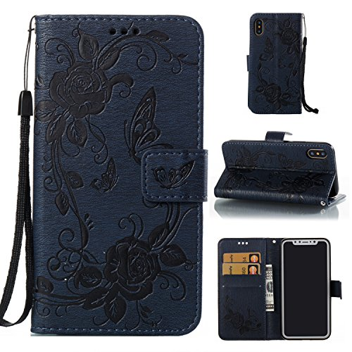 LionheartM iPhone 8 plus,8p ケース 手帳型 本革 レザー カバー 財布型 スタンド機能 カードポケット 耐摩擦 耐汚れ 全面保護 人気 アイフォン [1624]