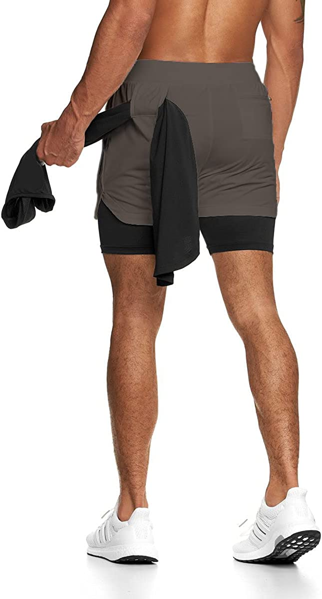 GINTPK Men's 5 Inches Ranking TOP10 Workout Liner Lightweight Shorts with 70% OFF Outlet Runn