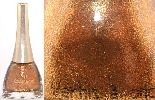 GOLDEN ROSE - Vernis Ongles Collection Paris Magic Color - 318