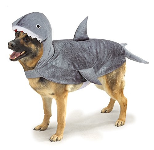 Casual Canine Casual Canine Shark Costume for Dogs, 24' XL