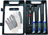Best Fish Fillet Knives - Sea Strike SSFK Fillet Kit 8Pc w/Carrying Case Review
