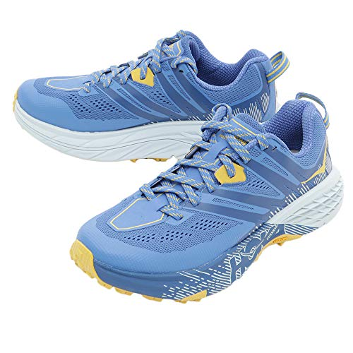 hoka Speedgoat 3 Azul Amarillo Mujer 1099734PBBM