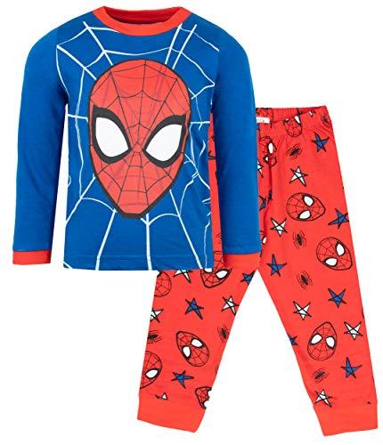 Juego de pijama oficial de Marvel Spiderman de 3 a 10 años...