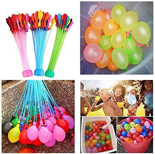Waterballonnen Zelfdichtende waterbommen Totaal 60 seconden vullen Eenvoudig Snel Zomer Splash Fun Watergevechtspel voor kinderen/volwassenen