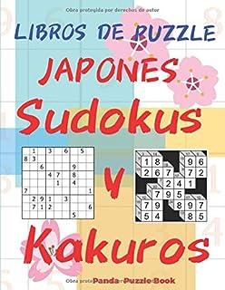 Libros De Puzzle Japones  - Sudokus y Kakuros: Juegos De Lógica Para Adultos