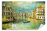 Postereck - Poster 0118 - Gondel in Venedig, Gemaelde Kunst