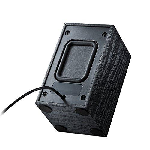 サンワサプライUSBスピーカー(ブラック)MM-SPU7BK