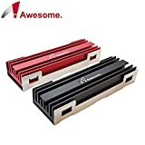 Awesome AWD-MCS01 M.2 2280 SSD NGFF HeatSink (ブラック)