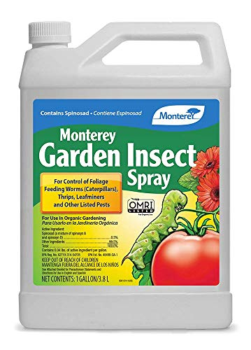 Monterey LG6155 Garden Insect Spray Liquid Concentrate Insecticide/Pesticide, 1 Gal