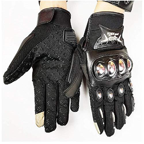 Motorrad Handschuh MTB Handschuhe Vollfinger-MotorradhandschuheFür Rennsport-Motocross-Schutzhandschuhe Aus Stahl