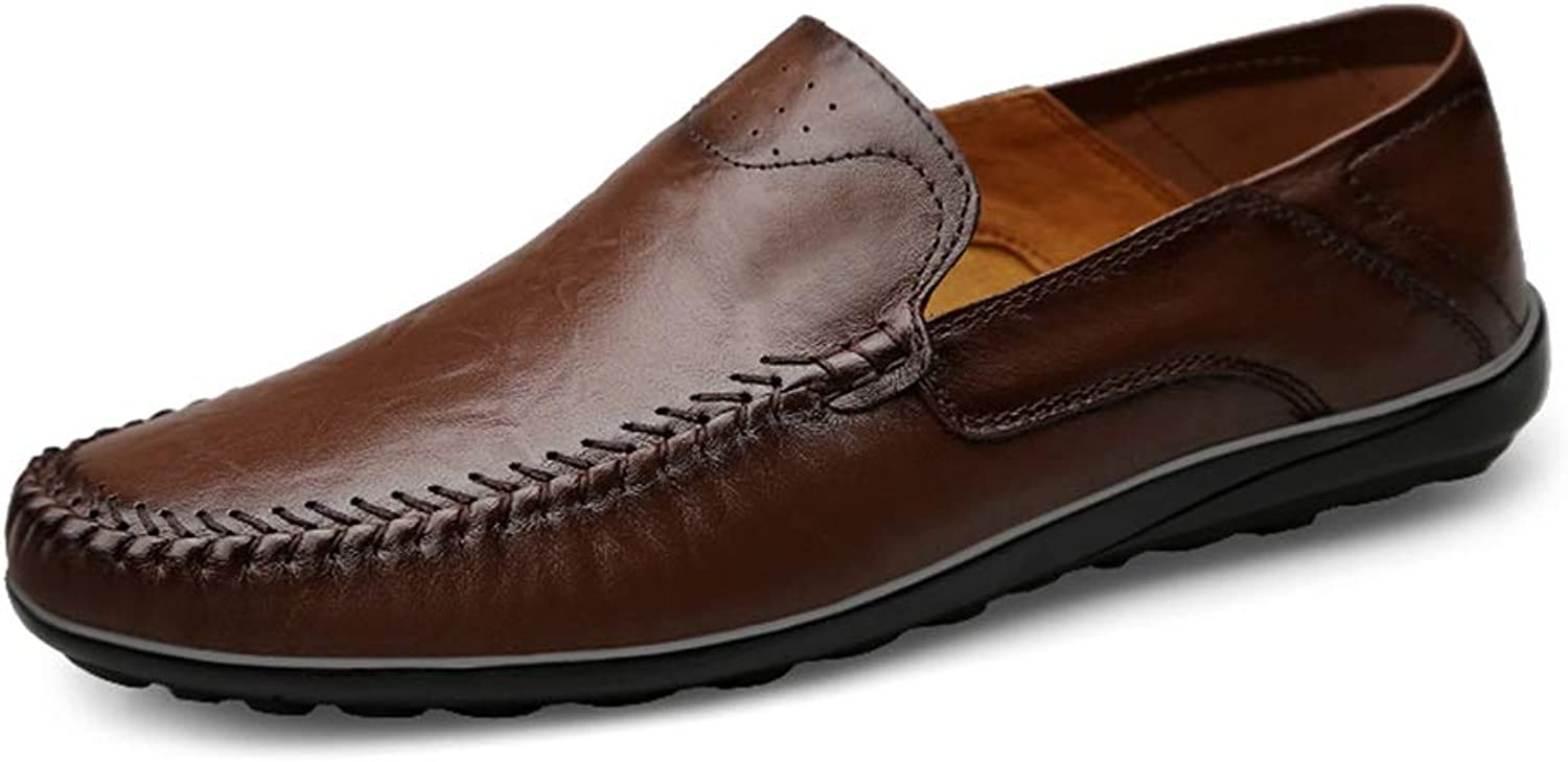 2019 Men's shoes Loafers Slip on Men Loafers Casual Driving