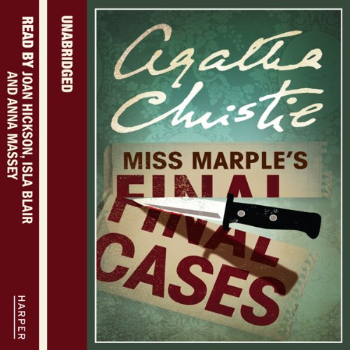 Miss Marple's Final Cases audiobook cover art